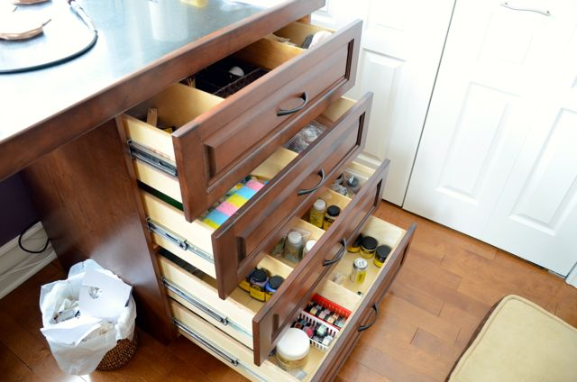 Leathercraft Drawers