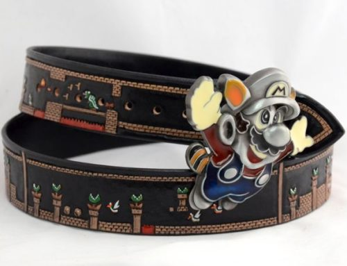 Nintendo Super Mario Belt Completed