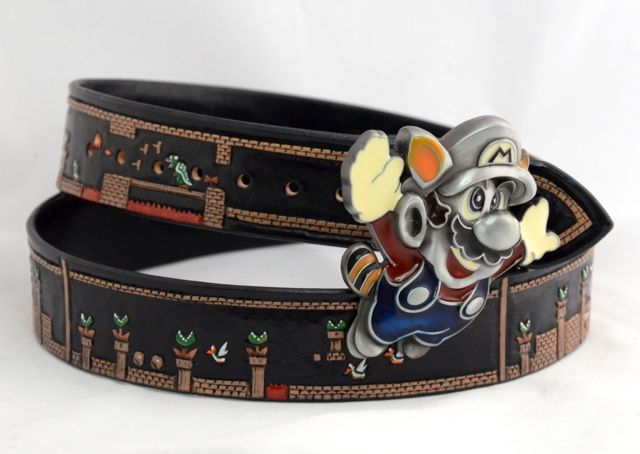 super mario belt