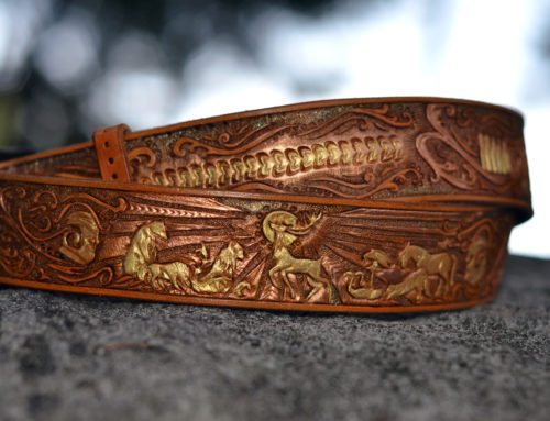A Game of Thrones Belt; from the Astrolabe in the Show's Intro