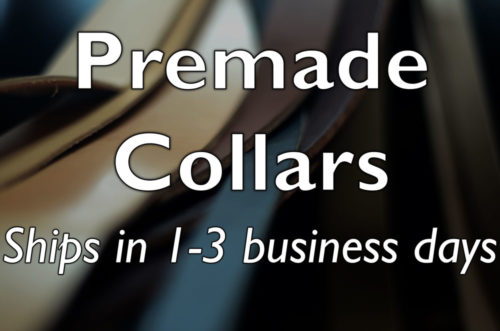 Premade Dog Collars